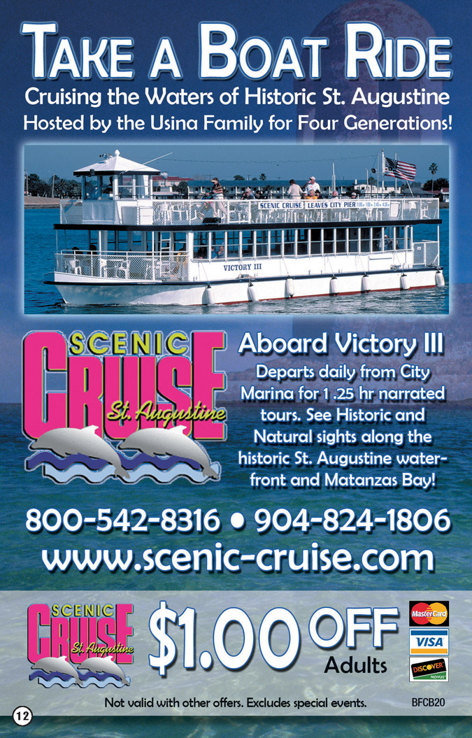 Scenic Cruise Of St Augustine Coupon 2019 Big Fat Coupon Book